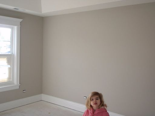 Benjamin Moore seattle mist....love this grayish tan