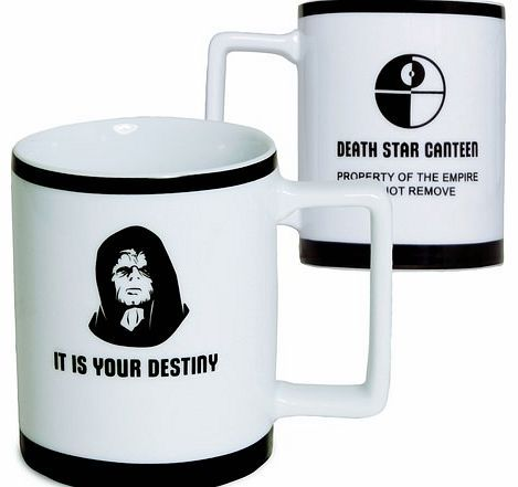 EMPEROR Palpatine Star Wars Coffee Mug Emperor Palpatine Star Wars Mug This Emperor Palpatine Imperial Mug is official Star Wars merchandise! It has the emperor and a quote on one side and a Death Star Canteen design on the other. It measu http://www.comparestoreprices.co.uk//emperor-palpatine-star-wars-coffee-mug.asp
