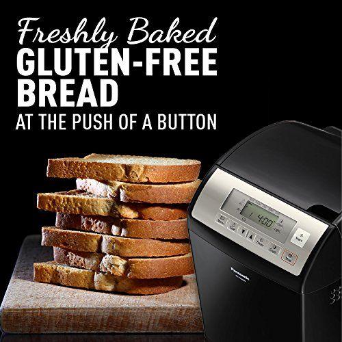 Panasonic SD-YR2500 Gluten Free Bread Maker with Yeast & Raisin/Nut Dispenser, Black