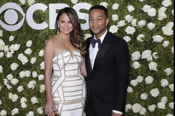 Chrissy Teigen rang in her 32nd birthday with John Legend, Kim Kardashian, Kanye West and other stars following news she's pregnant with…