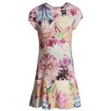 Multi Floral Jersey Dress