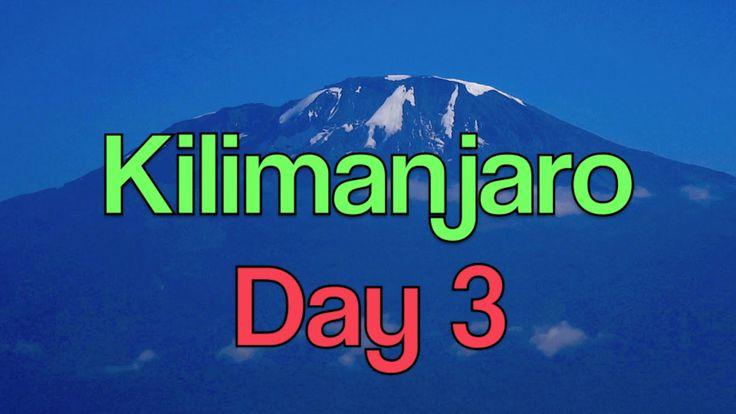 Mt. KILIMANJARO ★ DAY 3 ★ 2 LADIES12 MEN  7 DAYS - Shira 2 to Barranc...