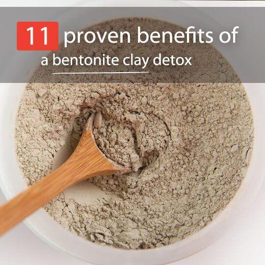 Benefits of eating bentonite clay