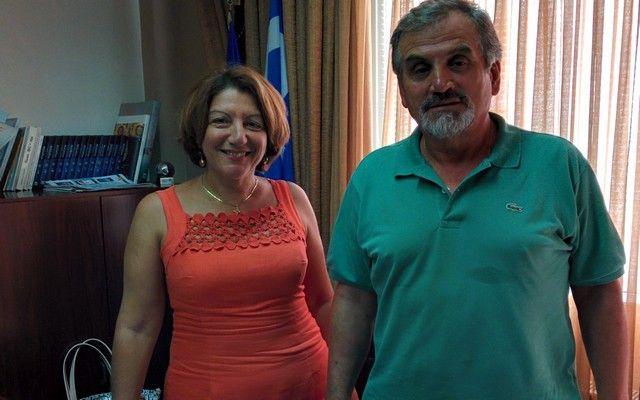 Στην Διεύθυνση Δευτεροβάθμιας Εκπαίδευσης ο Αντιδήμαρχος Βέροιας Γιώργος Σοφιανίδης