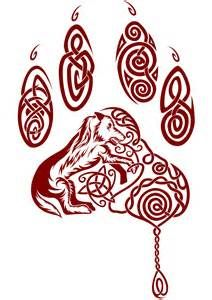 celtic wolf tattoo - Bing images