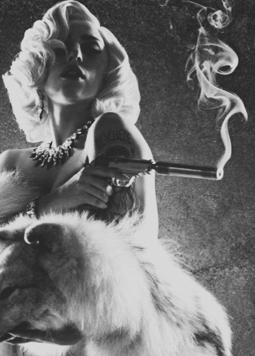 Lady Gaga as La Chameleón in 'Machete Kills', directed by Robert Rodriguez.