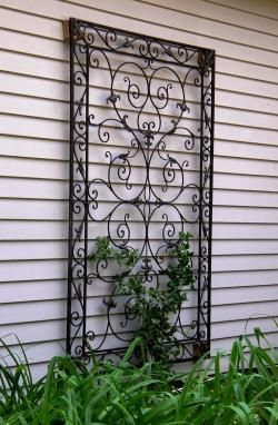 Trellis Design Ideas a narrow yard gains depth and interest with trellises pergola pavers and lush garden Garden Trellis Design Ideas I Want This Out Front For My Climbing Rose