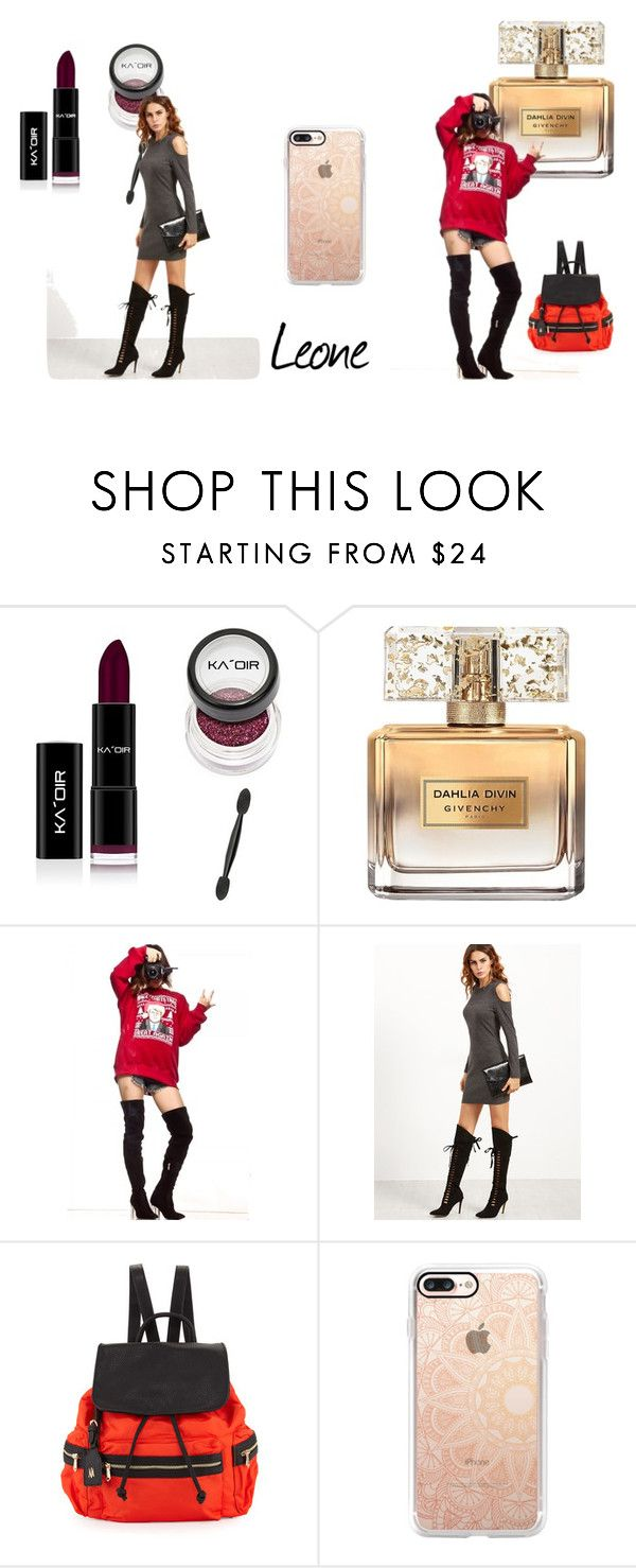 """lion's fashion"" by mariapizzuto on Polyvore featuring moda, Givenchy, Neiman Marcus e Casetify"