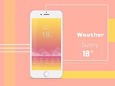 Weather App Sunny