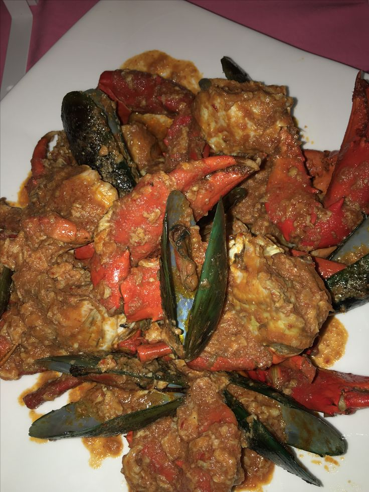 Chilli Crabs and Mussels