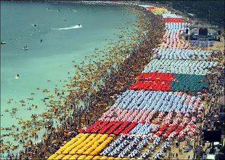 Haeundae Beach (해운대 해수욕장), Korea.