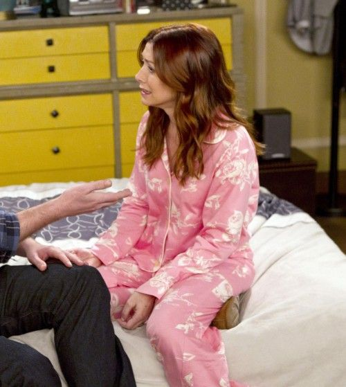 Lily�s pink pajamas on How I met your mother.  Outfit Details…