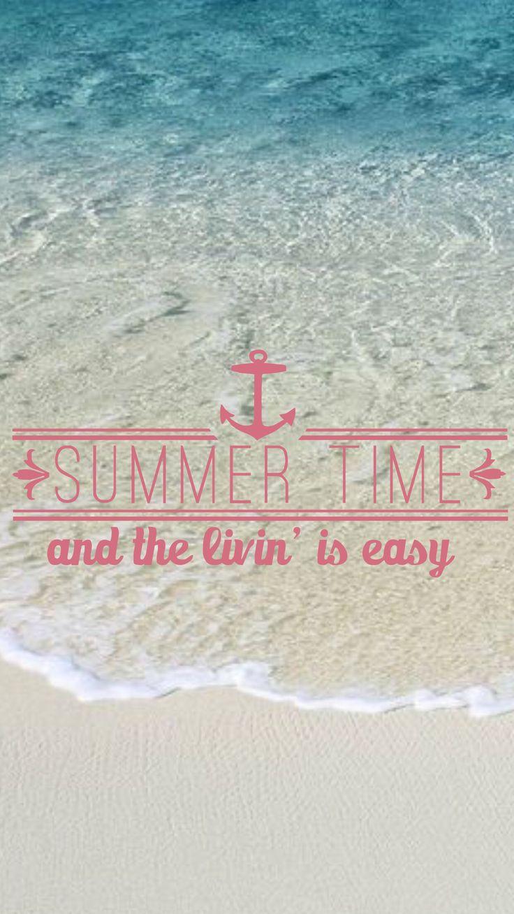 Summer iPhone wallpaper wallpaper Pinterest Summer