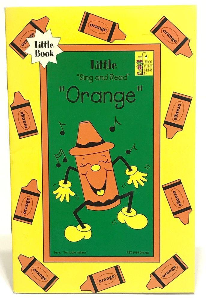 Orange Frog Book