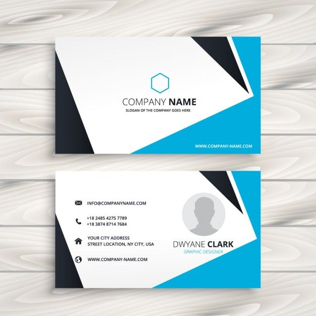 Modern Business Cards Card Design Free Vector Graphics Designs Graphic Kartu Nama Searching Adobe Illustrator Stationery
