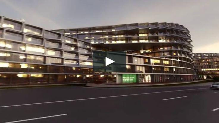 """Este es """"Esfera City Center Monterrey - Zaha Hadid Animation"""" de San Torres en Vimeo; el punto de encuentro entre los videos de alta calidad y sus fanáticos."""