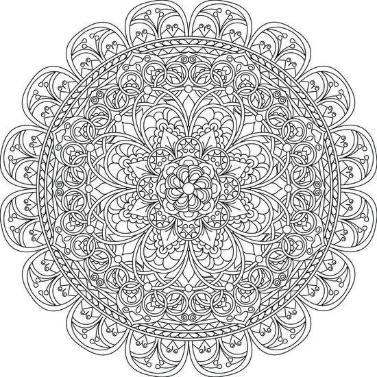 Mindful Compassion - Free Printable Coloring Page                                                                                                                                                     More