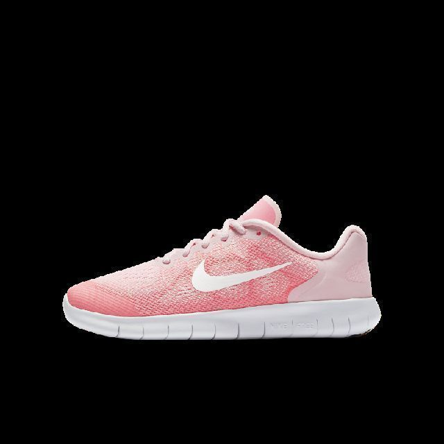 Nike Free RN 2017 Older Kids' Running Shoe Girls,Kids, Arctic Punch, Size.  breathable, flexible, fast. the nike free rn 2017 older kids' running shoe  lets ...