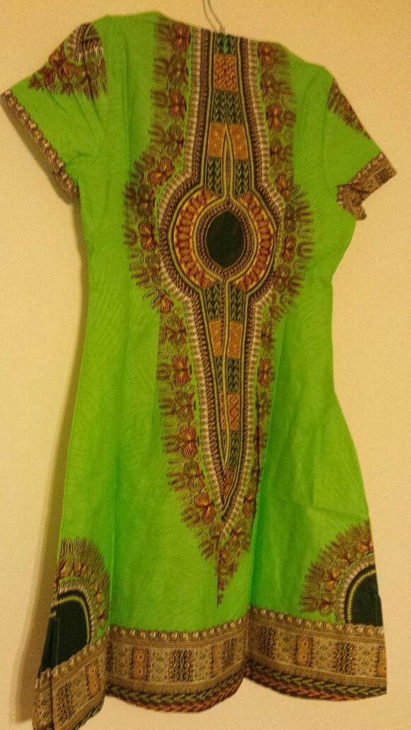 Dashiki African Print Dress