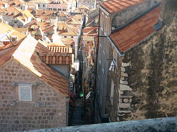 Zwiedzanie starej części Dubrownika - Południowa Dalmacja (Chorwacja) #chorwacja #dubrovnik #dalmacja http://www.chorwacja24.info/zwiedzanie/mury-obronne-dubrovnika