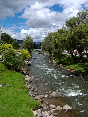 Cuenca, Ecuador - the boys would play here when we would visit our good friends in Cuenca.