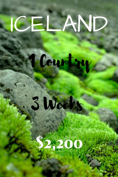 Iceland 1 Country, 3 Weeks, $2,200 Iceland on a Budget,Budgeting for Iceland. Iceland Travel