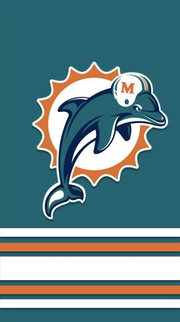 I Made Phone Wallpapers Based On The Jerseys Of Every Nfl Team With Throwbacks As An Added Bonus Nfl Football Wallpaper Miami Dolphins Wallpaper Nfl Teams Logos