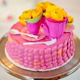 with cake topper by @Tiffany Pratt