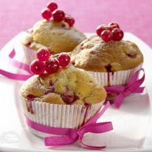 Rode bessen-yoghurt muffins - 4PP