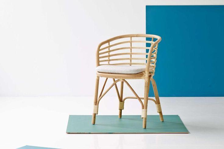 BLEND krzesło rattanowe