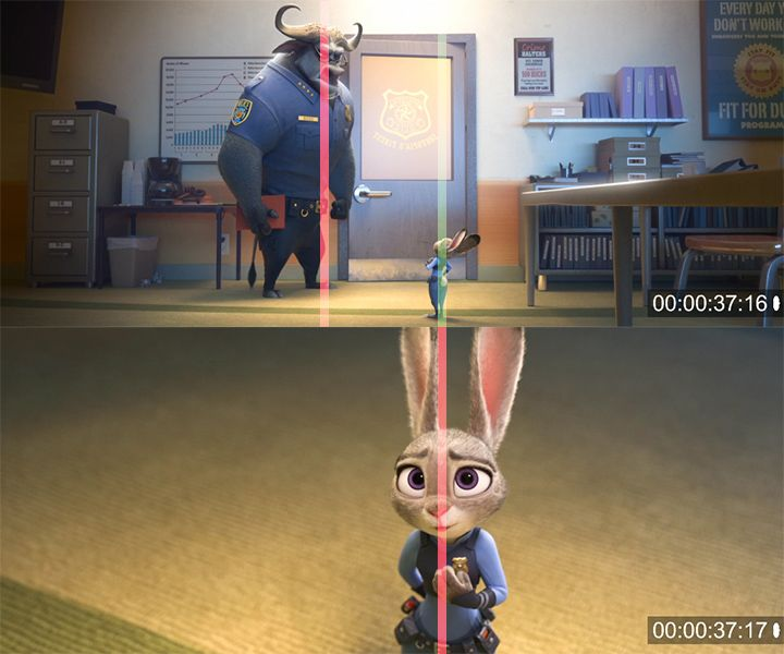 Colorful Animation Expressions: ZOOTOPIA Trailer #4: Smooth Continuity Editing