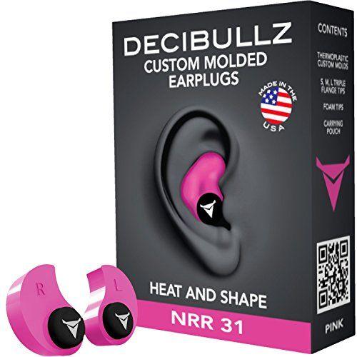 Decibullz Custom Molded Earplugs 31dB Highest NRR. Comfor... https://www.amazon.com/dp/B00WIXL3T4/ref=cm_sw_r_pi_dp_x_2f1lybKTKJTA1