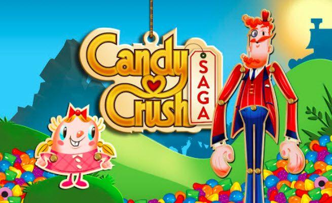 Candy Crush Saga - a bit addicted these days.