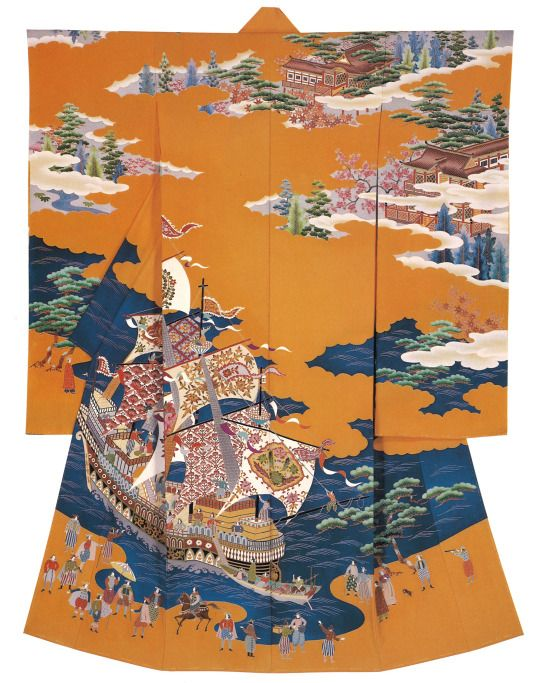 Kaga-Yuzen. Hiroshi Mizuno , Japan