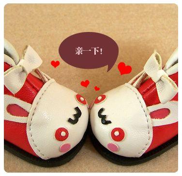 【糖豆豆】yosd Animal shoes - $26.00 : www.endlessbjd.com