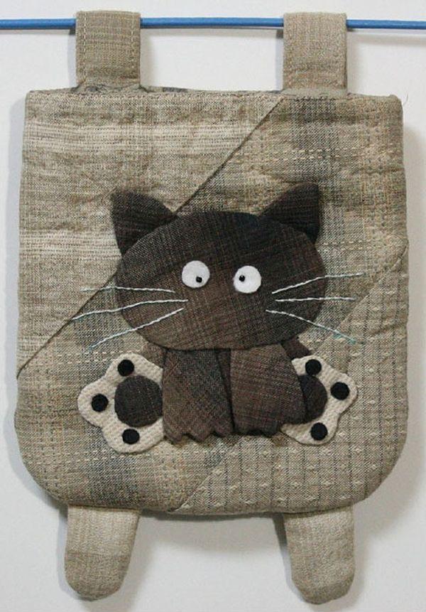 【代購】貝田明美 置物袋吊飾材料包/小貓咪_貝田明美的小錢包(小袋物)材料包 P系列_貝田明美的材料包_名師特區_麻雀屋手藝工坊 | 小蜜蜂手藝世界 | 就是拼布精品
