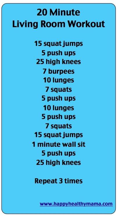 20 Minute Living room workout.    Health.MyShaklee.com