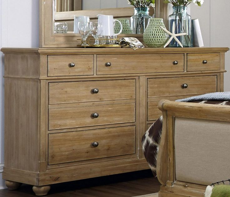 Liberty Furniture Harbor View 7 Drawer Dresser In Sand 531