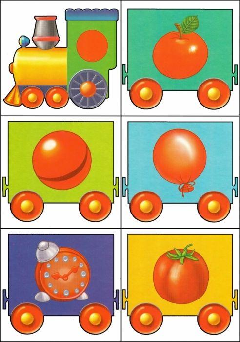 * Kleuren-vormen trein! 11-12