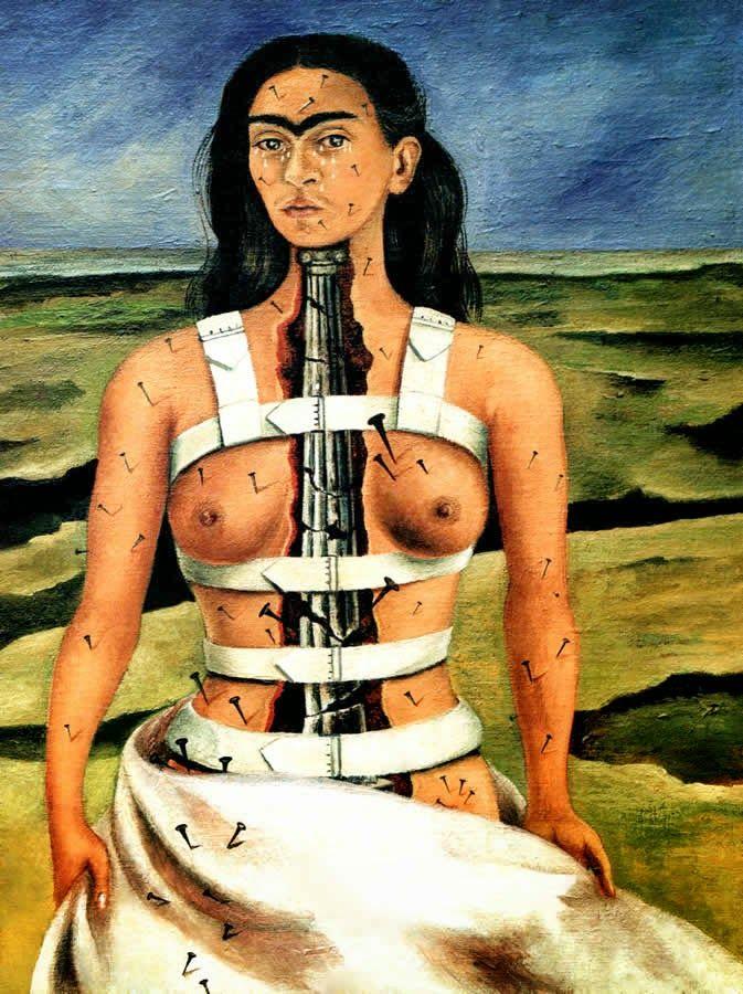 La colonne brisée - Frida Kahlo - 1944 - 40x30,7cm