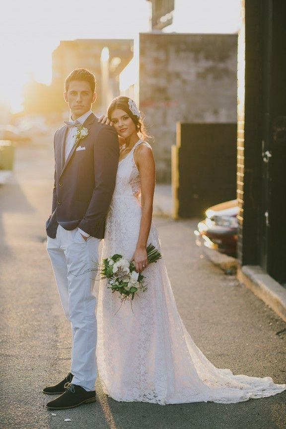 Laneway wedding | Photography by Adam Ward