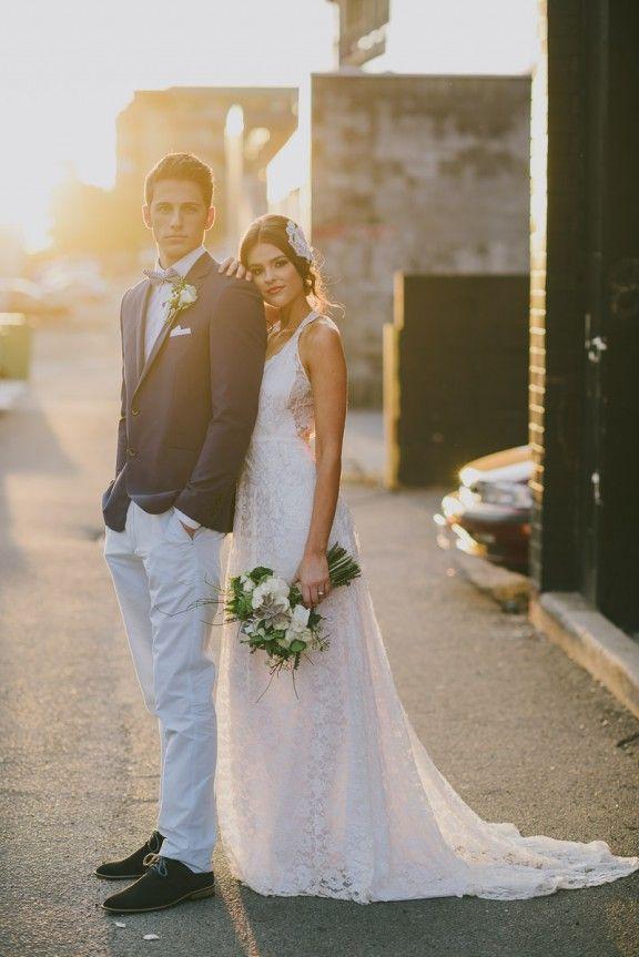 Laneway wedding | Photography by Adam Ward