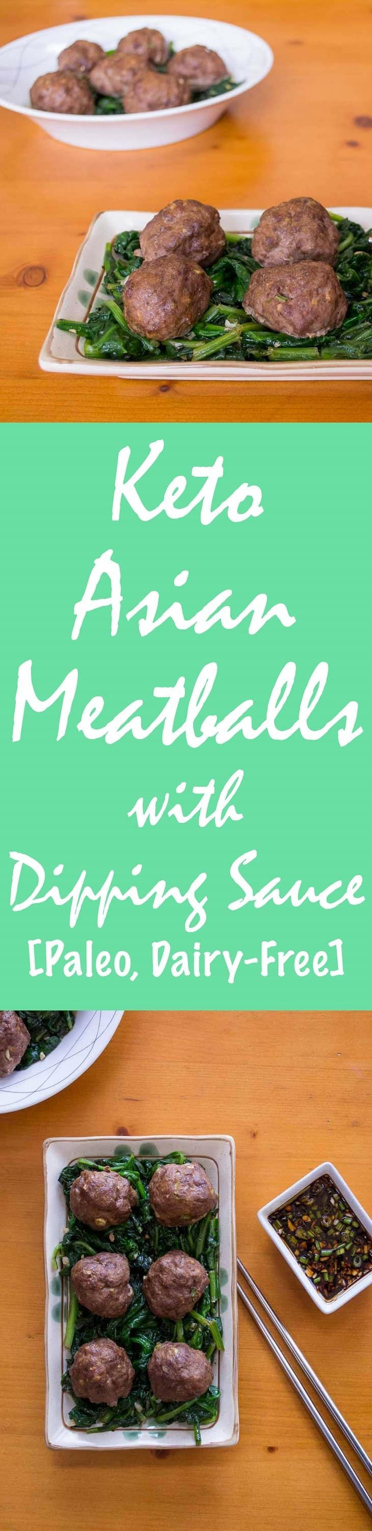 Get this list of Keto Asian Meatballs Recipe with Dipping Sauce [Paleo, Dairy-Free] here. Includes beautiful photos and printable step-by-step instructions.