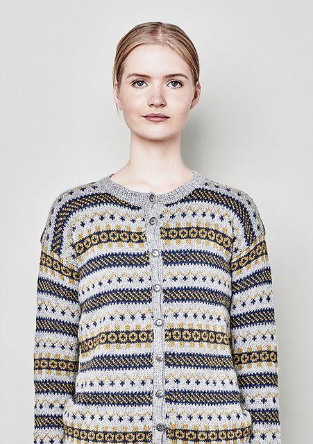 Ravelry: Sognekofta dame pattern by Sandnes Design