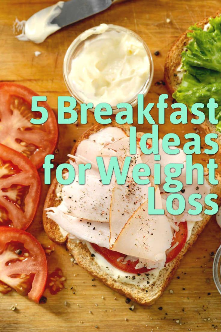 Looking to make some healthier changes in your diet this summer? Rather than skipping breakfast and choosing meals which won't sustain your body for the day, we have compiled a list of five options that will promote weight loss and keep you feeling fuller for longer.
