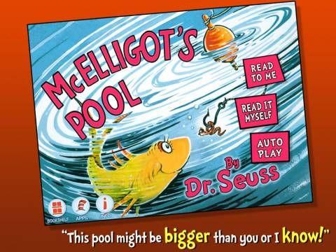 McElligot's Pool - an interactive adaptation of Dr Seuss's classic. Original Appysmarts score: 86/100