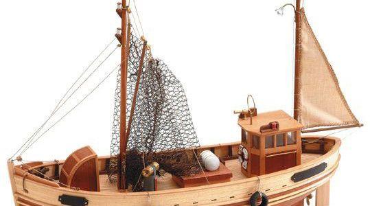 Kuter rybacki Bremen – Artesania Latina