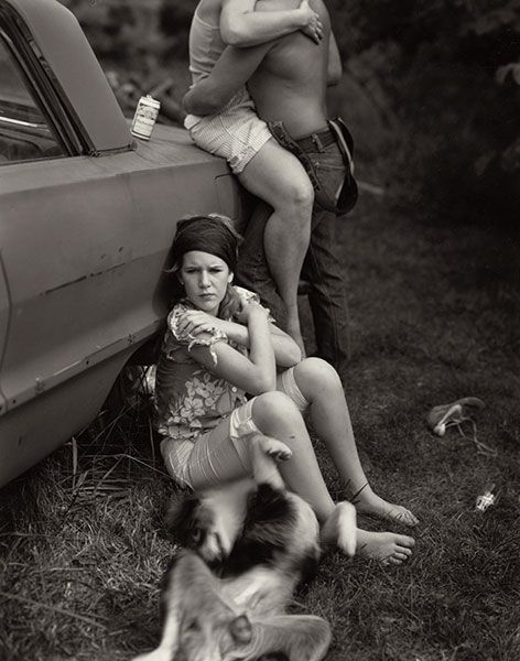 At Twelve © Sally Mann. Sally Mann (born in Lexington, Virginia, 1951) is one of America's most renowned photographers.