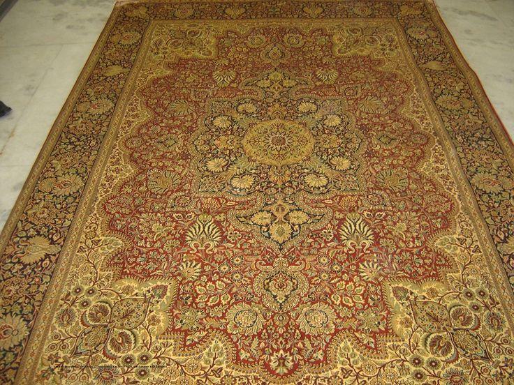 Great Kashmir Carpets, Kashmiri Silk Carpets, Kashmir Rugs, Cashmere Silk Carpets