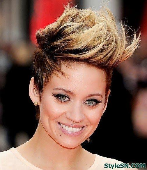 30 Cool Faux Hawk Womens Hairstyles Hairstyles Ideas Walk The Falls